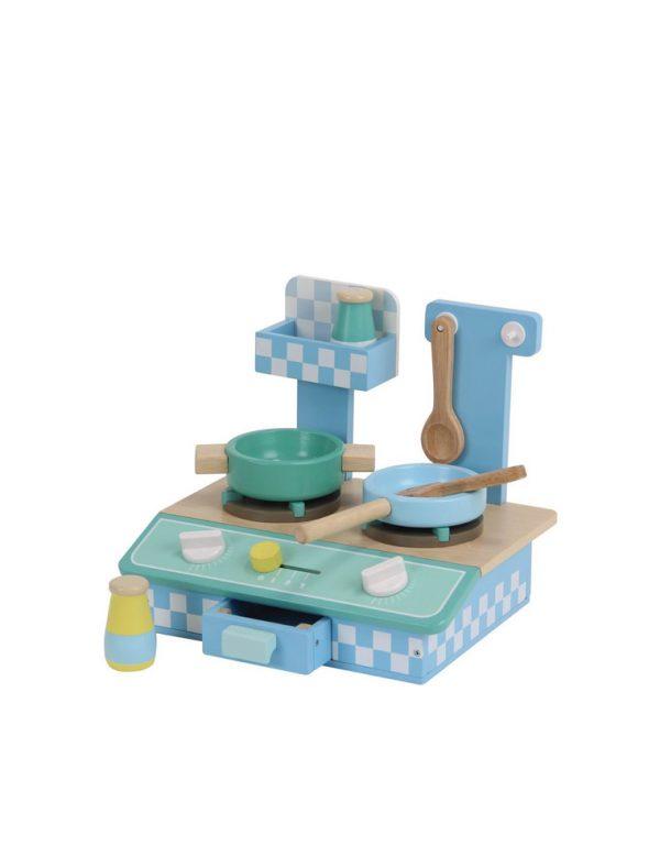Eğitici Ahşap Mini Mutfak Seti
